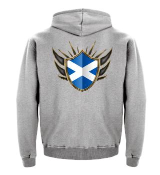 Schottland-Scotland Wappen Flagge 014