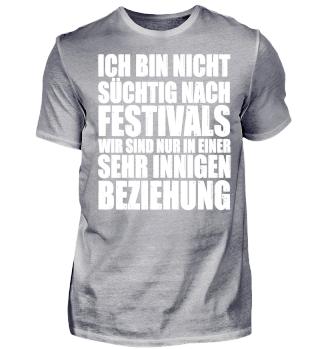 Festivals - In sehr innigen Beziehung