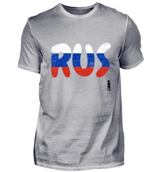 fussballkind - Fanshirt Russia