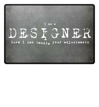 'Designer' Fußmatte