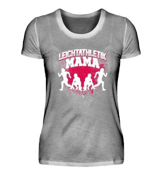 Leichtathletik Mama Mutter Geschenk