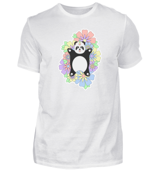 Unicorn Panda Tshirt, Gift Panda Fans