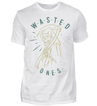 Herren Kurzarm T-Shirt Wasted Ones Ramirez