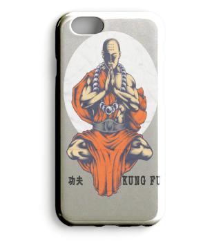 Kung Fu Shaolin Kämpfer Innere Ruhe