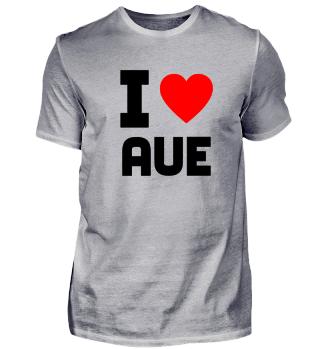 Geschenk Sachsen I Love Aue