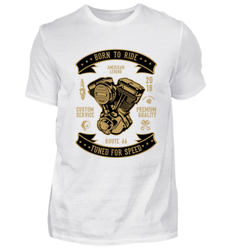 BORN TO RIDE - T-SHIRT #1.1