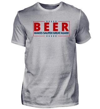 Beer Bier Saufen Great Trump