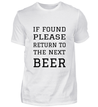 RETURN TO THE BEER
