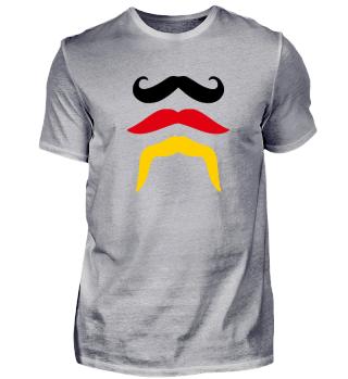 Deutschland Bart Mustache