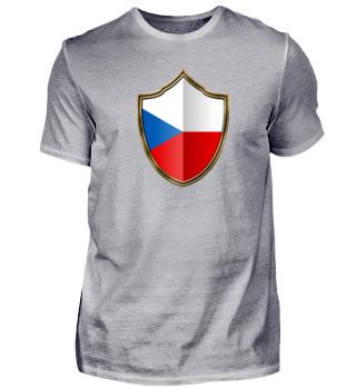 Tschechien-Czech Wappen Flagge 016