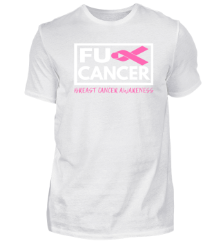 Fck Cancer Shirt breast cancer