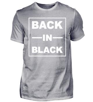 Back In Black - weiss