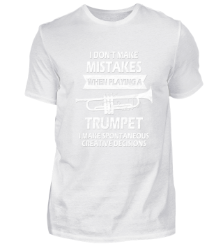 Funny Trumpet Musician Shirt