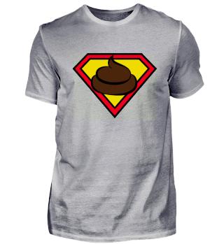 Kackhaufen Symbol Superheld