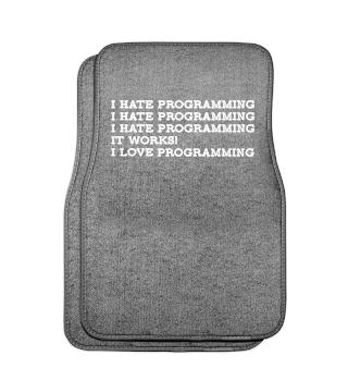 I Hate / I Love Programming T-Shirt