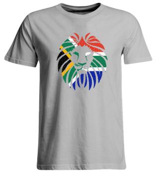 Löwe Südafrika