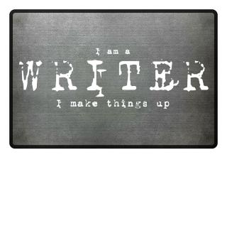 'Writer' Fußmatte