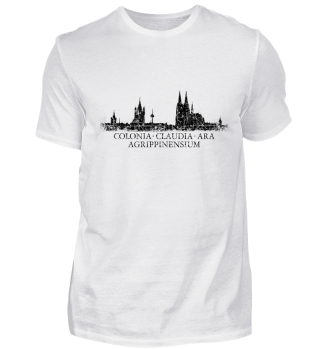 Köln Skyline Colonia Claudia...