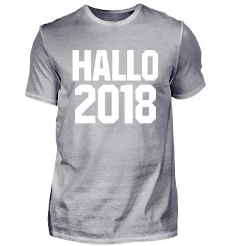 Hallo Silvester New Year 2018 Geschenk