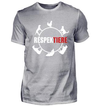 Respekt für Tiere - Schütze Deine Umwelt