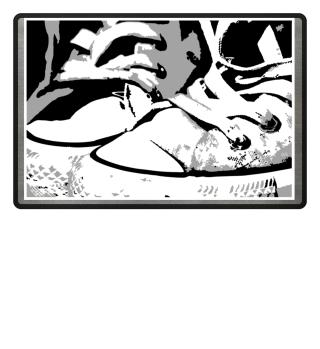 Fußmatte Schuhe Kult Sneakers