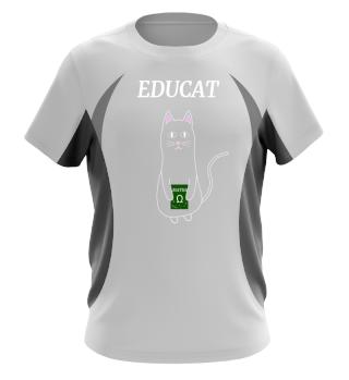 GIFT CAT KITTIE TOMCAT SCHOOL EDUCATION