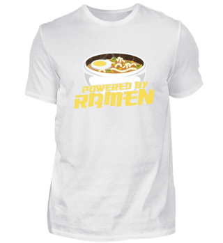 funny ramen shirt, powered by ramend tee