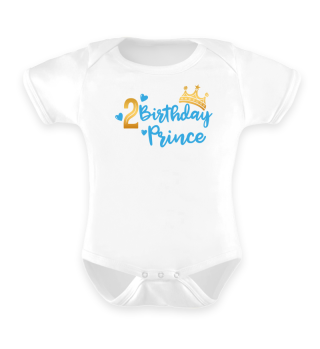 Second Baby Birthday Prince