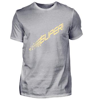 Star Super T-shirt - Men Women Kid