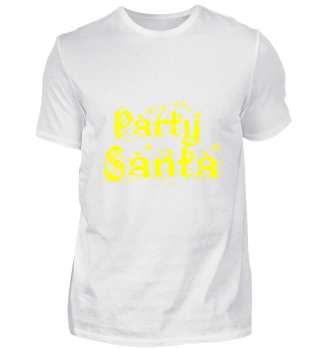 GIFT- PARTY SANTA YELLOW