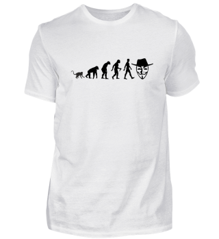 Evolution Of Humans - Anonymous