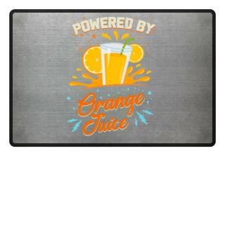 Funny Vegetarian: Powered Orange Juice