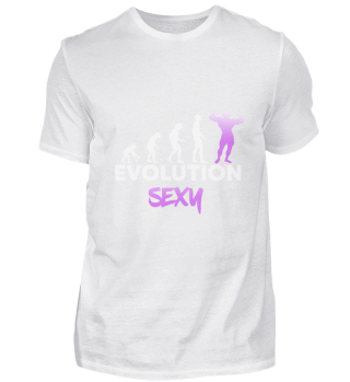 Evolution Man Sexy Bodybuilder
