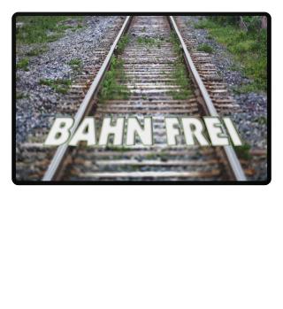 Foto Bahngleise - BAHN FREI
