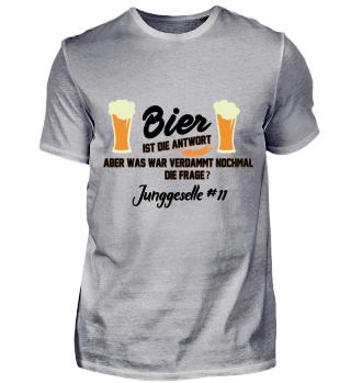 JGA Bier - Junggeselle #11