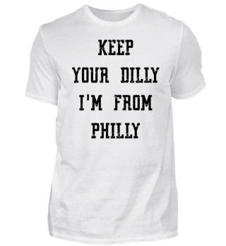 T-Shirt Philadelphi - Keep your Dilly