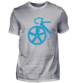 Rennrad & Bahnradsport T-Shirt Geschenk