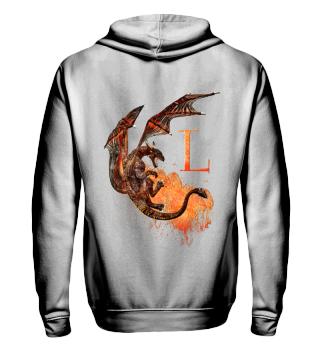 Drachen Buchstabe L