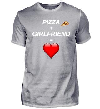 Pizza Girlfriend geschenk gift
