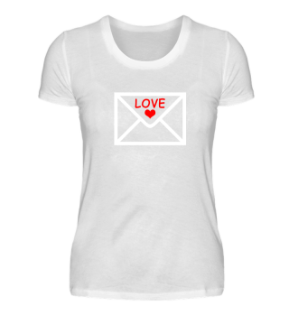 Love Letter Heart Lovers Funny Gift Idea