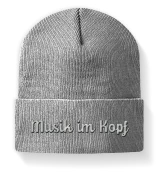 Musik im Kopf - Mütze