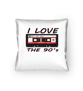I Love The 90's 90er, 90s, dance, Musik, neunziger, Party, rap, Rock, techno, Trance, Schranz, Hip Hop, T-Shirt, Shirt