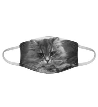 Gesichtsmaske mit Katzenmotiv 20.57