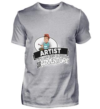 D001-0353A Artist Künstler - Adventure /