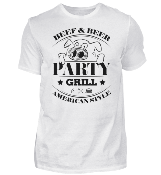 ☛ Partygrill · American Style #4S