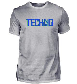Techno Blau