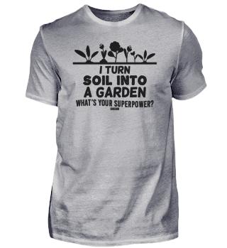 Garden gardeners growing botanic