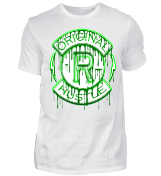 Herren Kurzarm T-Shirt Original Hustle Ramirez