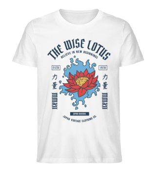 The Wise Lotus! Tolles Asia-Motiv!