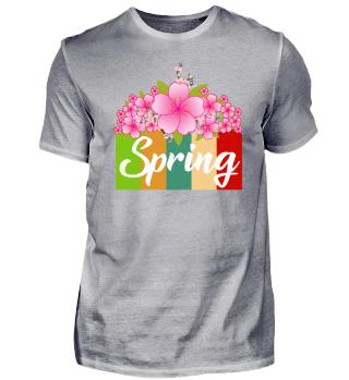 Gestreifter Frühling
